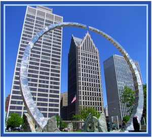 Detroit Sculptures by LadyDragonflyCC ->;< is licensed under CC by 2.0